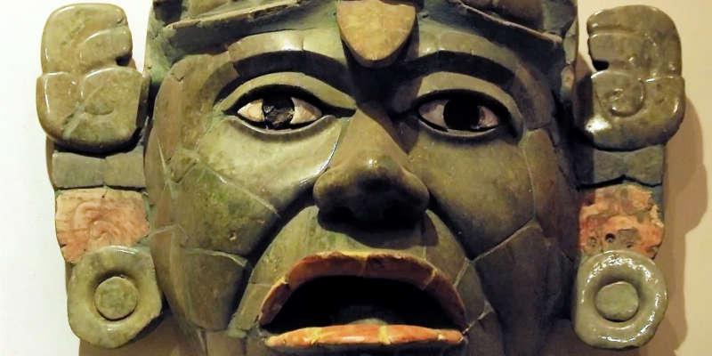 Máscara funeraria de jade barato barata baratos baratas comprar precio precios