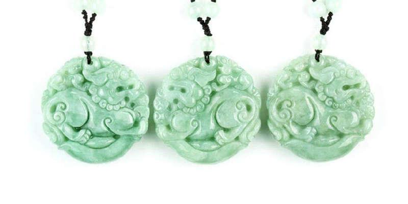 Regalar colgantes de Jade es común en China